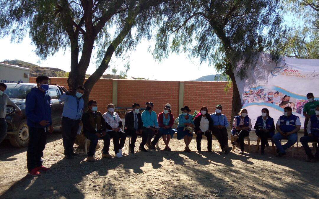 El Proyecto RBC Poroma participo de las actividades programadas en el municipio por el mes aniversario.